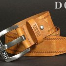 Diesel Men's Casual Genuine Leather Belt
