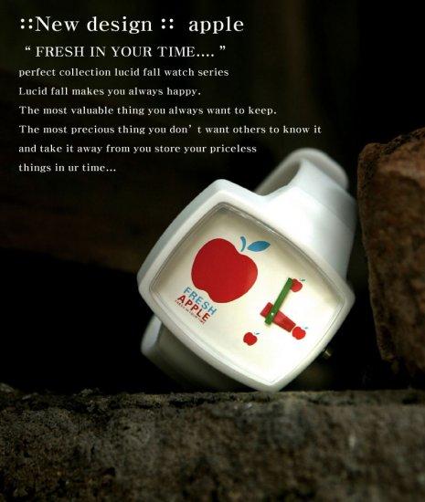 Lucid Fall Fresh Apple Unisex TV Watch