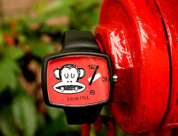 Lucid Fall Dracula Unisex TV Watch