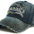 Von Dutch Cap With Emb. Signature Logo Denim Trucker Hat