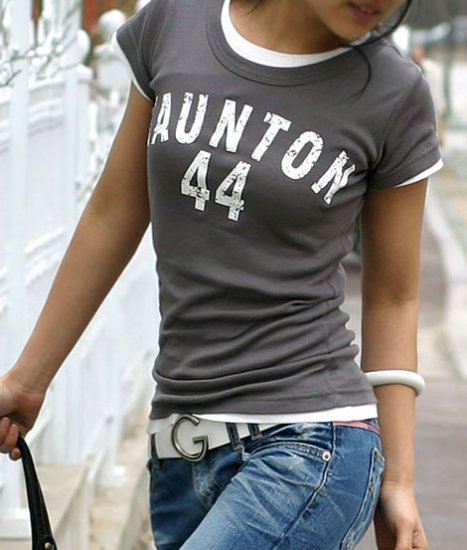 Taunton 44 Short Sleeve Print T-shirt For Women
