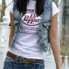 Dr. Pepper Short Sleeve Printed T-shirt For Women