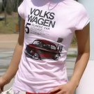 Volkswagen Printed Women's Short Sleeve T-shirt