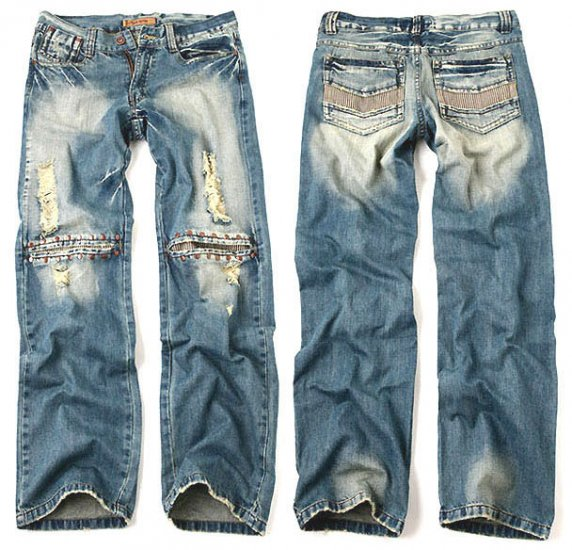 Vintage Straight Premium Denim Jeans For Men