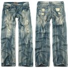 Semi Skinny Vintage Premium Denim Jeans For Men