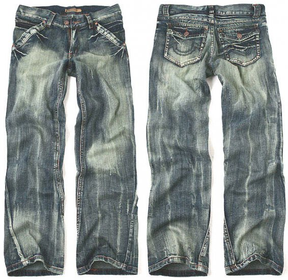 Midi Straight Premium Denim Jeans For Men