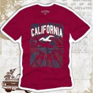 California Hollywood Vintage Style Men's T-shirt