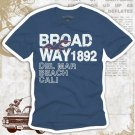 """BROADWAY 1892"" Hollywood Vintage Style Men's T-shirt"