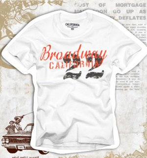 """""""No. 22"""" Hollywood Vintage Style Men's T-shirt"""