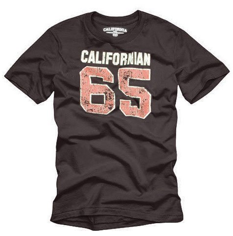 """California 65"" Hollywood Vintage Style Men's T-shirt"