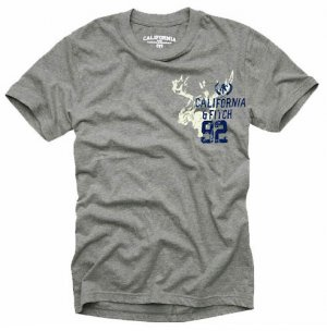 """""""California & Fitch"""" Hollywood Vintage Style Men's T-shirt"""