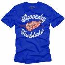"""Superday Fireblades"" Hollywood Vintage Style Men's T-shirt"