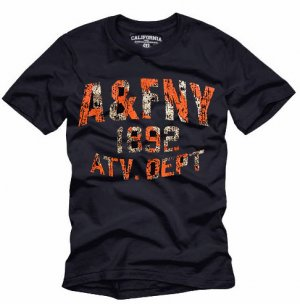 """A&FNY"" Hollywood Vintage Style Men's T-shirt"