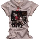 """Lovely"" New York Style Women's T-shirt"