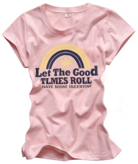 """Let The Good"" New York Style Women's T-shirt"