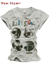 """""""Baby Story"""" New York Style Women's T-shirt"""