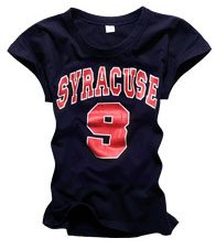 """SYRACUSE 9"" New York Style Women's T-shirt"