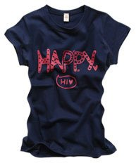 """Happy"" New York Style Women's T-shirt"