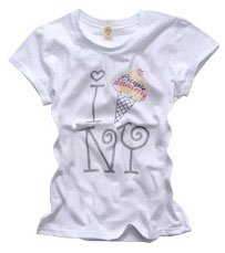 """I love NY"" New York Style Women's T-shirt"