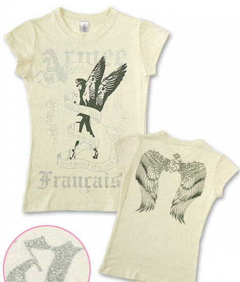 """Francaise"" Hollywood Vintage Style Women's T-shirt"
