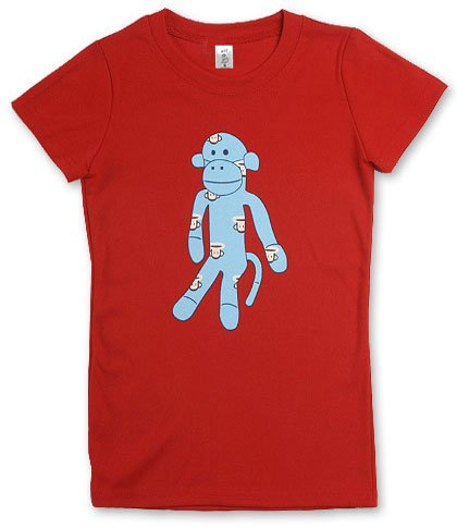 """Monkey"" Hollywood Vintage Style Women's T-shirt"