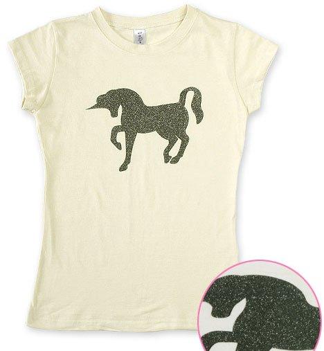 """Unicorn Pearl"" Hollywood Vintage Style Women's T-shirt"