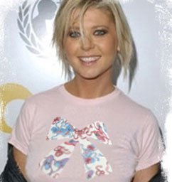"""""""Pink Ribbon"""" Hollywood Vintage Style Women's T-shirt"""