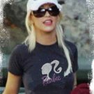"""""""Barbie Pearl"""" Hollywood Vintage Style Women's T-shirt"""