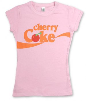 """Cherry Coke"" Hollywood Vintage Style Women's T-shirt"