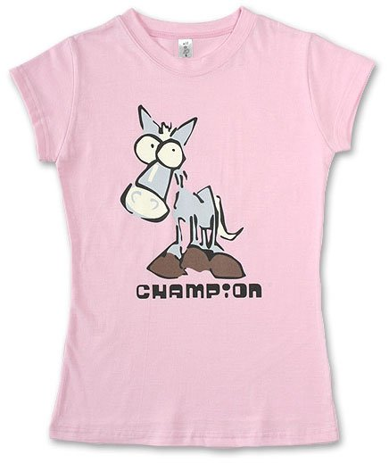 """Champion"" Hollywood Vintage Style Women's T-shirt"