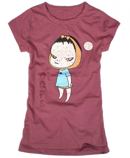 "Artist Yoshitomo Nara's Artwork ""Mumps"" T-shirt for Women"