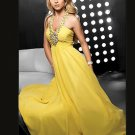 Fantastic A-Line Floor-Length Chiffon Charmeuse Cheap Evening Dresses