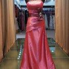 New simple and elegant bow elegant evening dresses