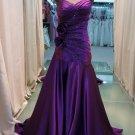 2012 new trailing purple elegant evening dresses