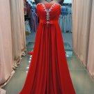 2012 Sexy Bra red tail elegant evening dresses