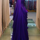 2012 new purple strapless elegant evening dresses
