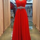 Harness red waist elegant evening dresses