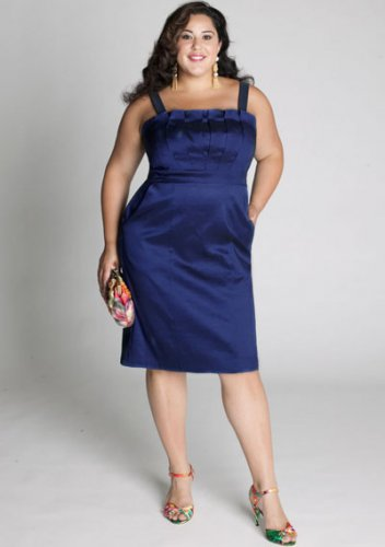 plus size evening dress Cybelle Cocktail Dress in Royal