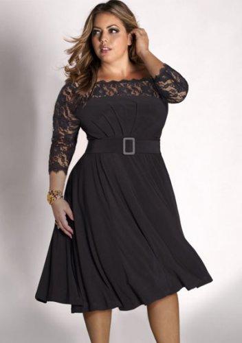 plus size evening dress Sicilia Dress