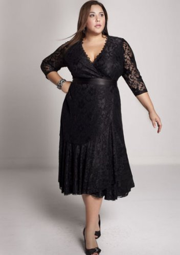 plus size evening dress Carmella Lace Dress