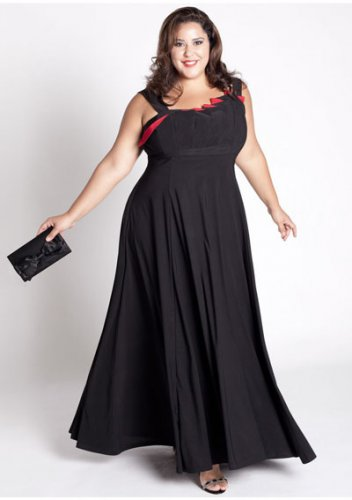 plus size evening dress Kristina Gown
