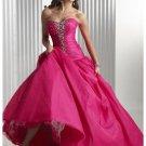 strapless empire bodice  length a line 2012 Long Prom Dresses