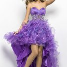 Ball Gown Sweetheart Organza Prom Dresses
