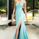 Floor Length One Shoulder Prom Dresses