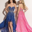 Sweetheart Strapless Neckline Column 2312 sexy prom dresses