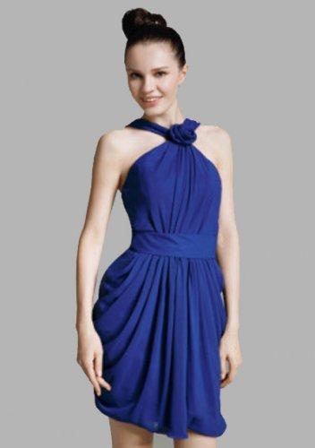 Chiffon Sheath/Column Straps Short/Mini Short Prom Dresses