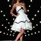 strapless neckline with a line short skirt 2012 top seller Cocktail Dresses For Weddings