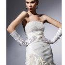 Sheath Strapless Short/Mini Short Cocktail Dresses