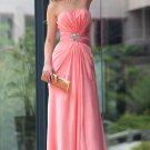 Hot Sale Sexy Strapless Beaded Europe Party Dresses For Women