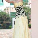 Hot Sale Elegant Strapless Appliqued Name Brand Party Dresses For Women